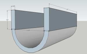 6 300x188 Free Plans   How to Build a sluice box (boil box)