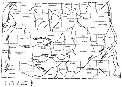 pre glacial rivers copy North Dakota Gold Deposits