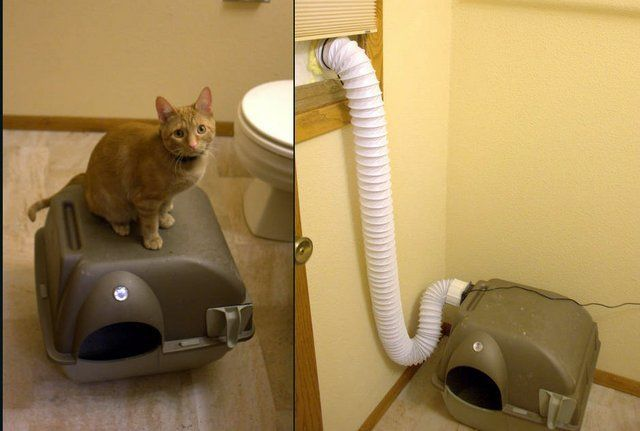 How To Build A Ventilated Litter Box Geothunder Projects