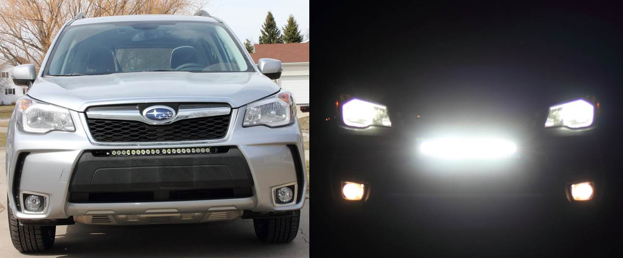 Finding a led light bar for a subaru forester 14 aloadofball
