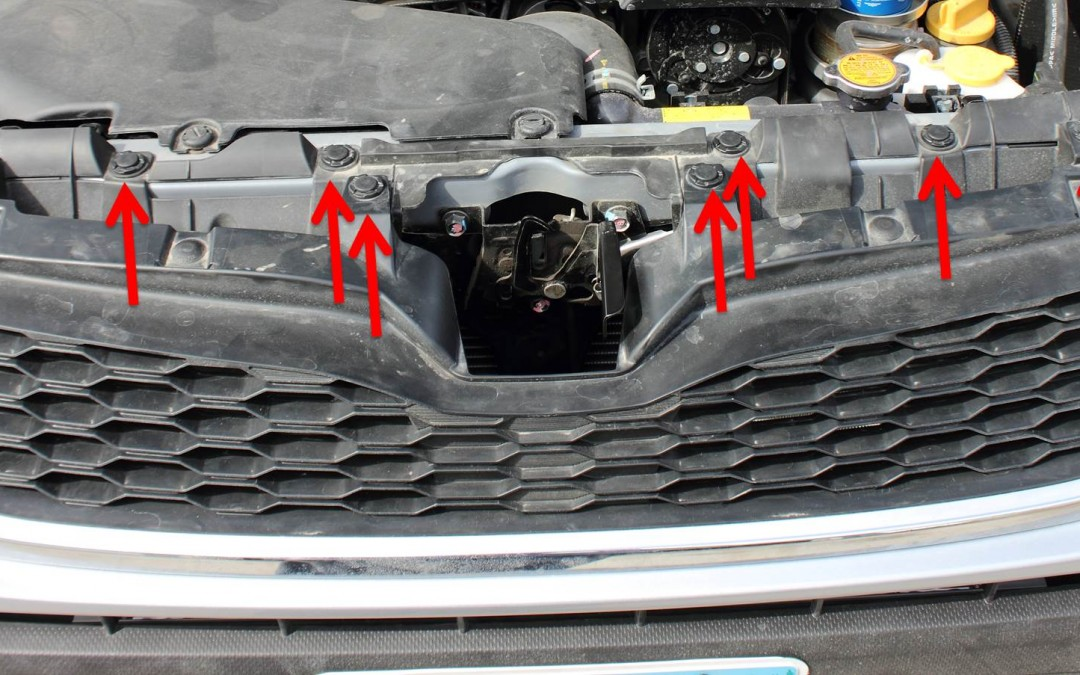 How to Remove the Front Grille on a 2014 or Newer Subaru Forester