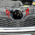 Image of 2014+ Subaru Forester Body Clip Locations for front grille