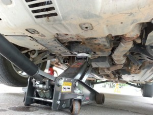 Subaru Forester Front Jack Point